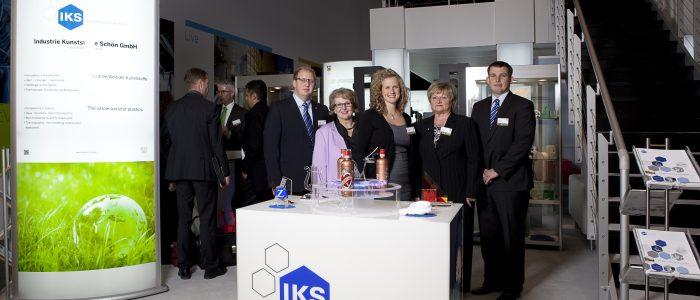 IKS Schön auf der Kunststoffmesse K