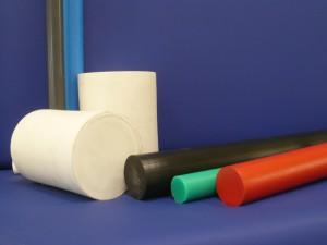 PE 1000 Halbzeuge in verschiedenen Farben