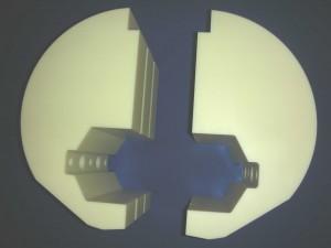 PA - symmetrische Sonderanfertigung gemäß Zeichnung